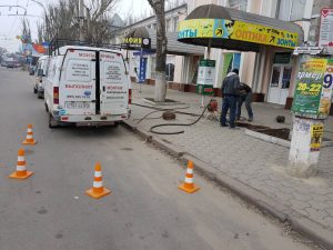 Прочистка канализации Херсон круглосуточно - 24/7.